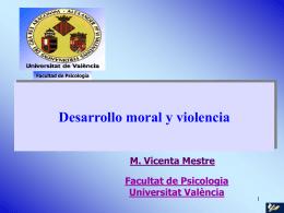 Desarrollo moral y violencia
