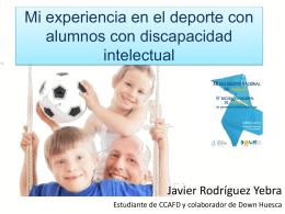 Ponencia de Javier Rodríguez