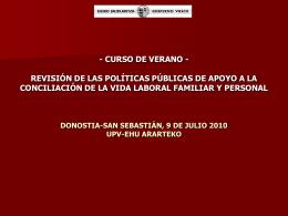 CURSO DE VERANO
