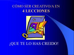 creatividad social, valores y calidad de vida