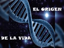ORIGEN DE LA VIDA (2061312)
