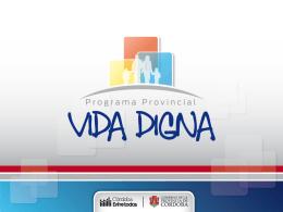 Vida Digna - Córdoba - Gobierno de la Provincia de Córdoba