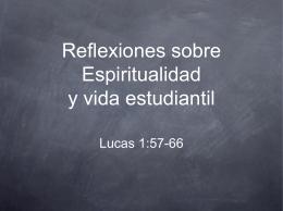 Espiritualidad y vida estudiantil