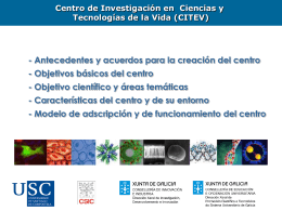 Centro de Investigación en Ciencias y Tecnologías de la Vida (CITEV)