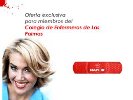 Primas seguro vida colegiados - Las Palmas
