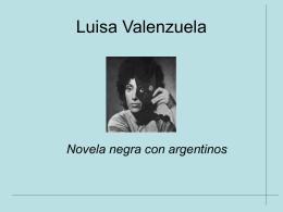 Luisa Valenzuela:
