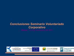 Seminario de Voluntariado Corporativo