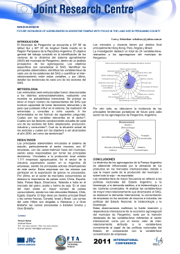 2. Poster Subtitle - Foresight for the European Research Area