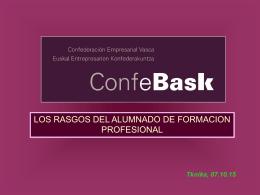 informe de Confebask