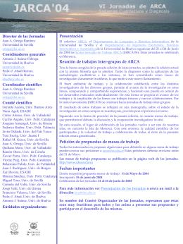 CFP Jarca 04 - Universidad de Huelva