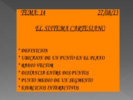 EL SISTEMA CARTESIANO 2_S