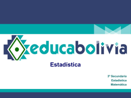 Estadística - portal offline