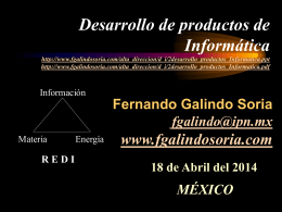 documento en PowerPoint - Fernando Galindo Soria