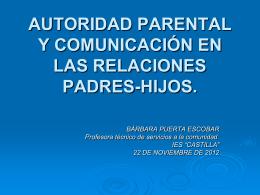 comunicación y asertividad en las relaciones padres