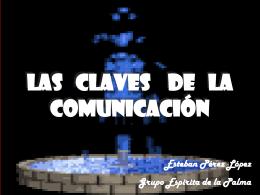 LAS CLAVES DE LA COMUNICACIÓN