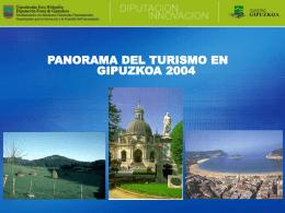 Panorama del turismo en Gipuzkoa 2004