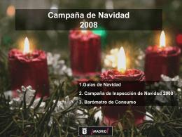 Presentación actuaciones consumo en Navidad