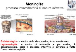 Infezioni del sitema nervoso centrale