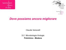 Venturelli - Policlinico di Modena