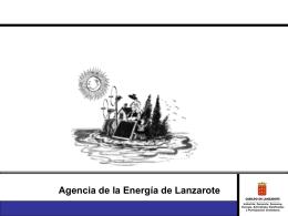 Presentación Agencia Energía