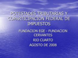 Presentación - FUNDACIÓN EGE
