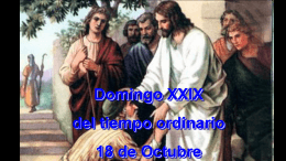 Domingo XXIX - salvatorianos venezuela