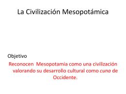 Clase 12: mesopotamia - Colegio SS.CC. Manquehue