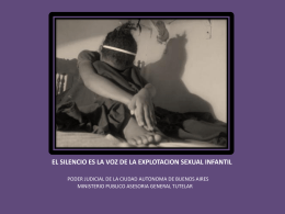 explotacion sexual comercial infantil (esci)