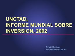 Informe Mundial sobre las Inversiones 2002-UNCTAD