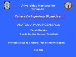 Presentacion clase Inaugural - Facultad de Medicina