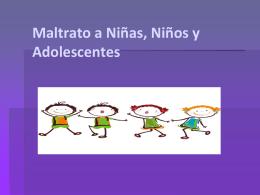 Capacitación Area Niñas, Niños y Adolescentes