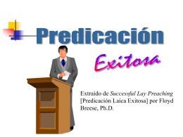Homiletica - Conquismania.cl