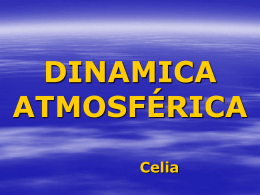 DINAMICA ATMOSFÉRICA Celia