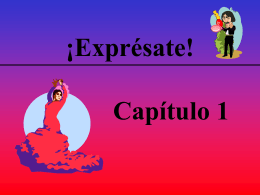 No Slide Title - La clase de Español de Sra. Simpson