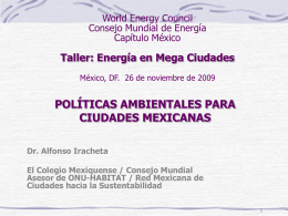 2009_Megaciudades_Alfonso Iracheta. Col Mexiquense