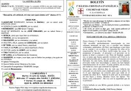 14 Julio 2013 - Iglesia Cristiana Evangélica de Colmenar Viejo