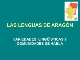 LAS LENGUAS DE ARAGÓN
