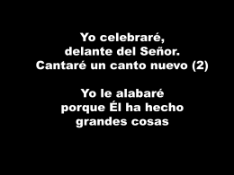 Cantos 18 enero - Cristo Salvador