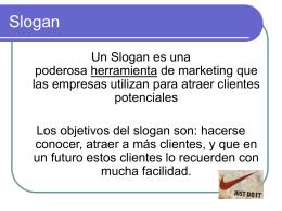 LOGO Y SLOGAN.