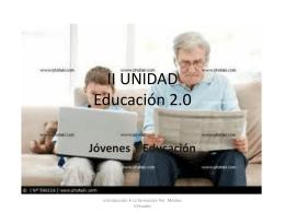 II UNIDAD Educación 2.0
