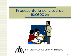 para estudiantes con - San Diego County Office of Education