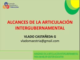 Vlado Castañeda - Consejo Nacional de Educación