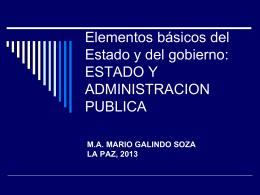 ADMINISTRACIÓN PÚBLICA - Programa de Desarrollo Local