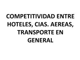 competitividad entre hoteles, cias - UTN