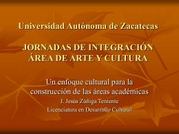 Universidad Autónoma de Zacatecas Relaciones entre
