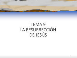 El Misterio Pascual: Pasión, muerte y resurrección de Jesucristo