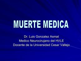 MUERTE MEDICA