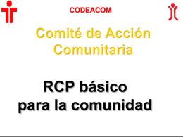 Curso de RCP y OVACE