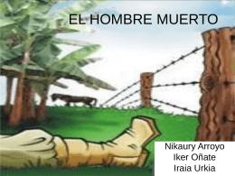 EL HOMBRE MUERTO
