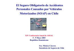 Seguro Obligatorio de Accidentes Personales